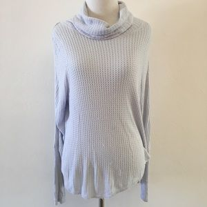 We The Free Waffle Long Sleeve Top Size XS